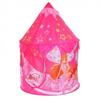 "Детская палатка ""Винкс""101 × 101 × 132 см (под заказ)"