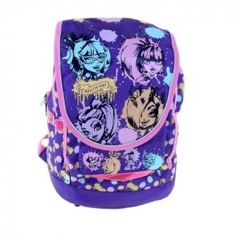 Рюкзак Monster High фиолетовый (под заказ)