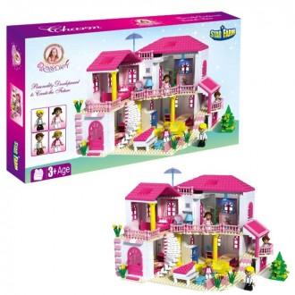 """Конструктор для девочек """"Загородный дом"""", 800 деталей 60,8 × 8,7 × 35,4 см"""