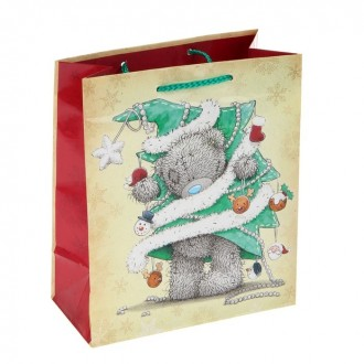 """Пакет подарочный """"Карманный Новый Год"""" 20х24х10.2 см, Me to you"""