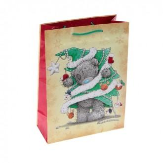"""Пакет подарочный """"Карманный Новый Год"""", 26 х 36см, Me to you"""