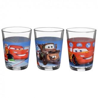 Набор стаканов 3 штуки 160 мл FB DISNEY CARS ASSORTED (под заказ)