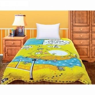 """Покрывало """"Collorista"""" Моя мягкая кровать Котэ 1.5 сп, 145*205 см, микрофибра, 100%п/э"""