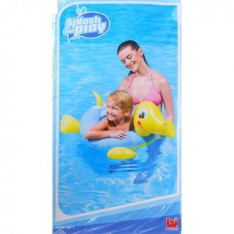 """Круг надувной для плавания """"Черепашки"""", 61 см"""