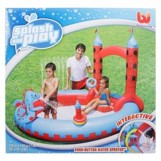 """Игровой бассейн """"Замок"""", 201х193х140 см, 270 л (под заказ)"""