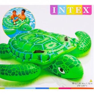 Игрушка для плавания Черепаха с ручками 191х170 см, от 3 лет (под заказ)