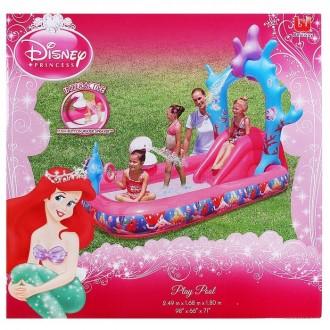 """Игровой центр с бассейном """"Princess"""" 249х168х180 см, 230 л., от 3 лет (под заказ)"""