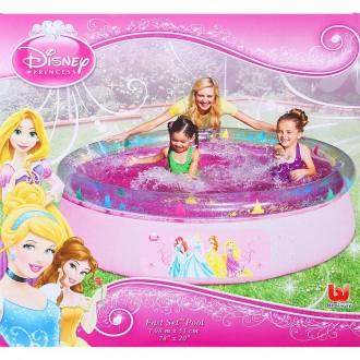 """Бассейн с надувным бортом """"Princess"""", 198 х 51 см, 2 300л (под заказ)"""