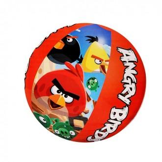 Мяч пляжный Angry Birds 51 см
