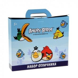 """Набор отличника """"Angry Birds"""", 12 предметов"""