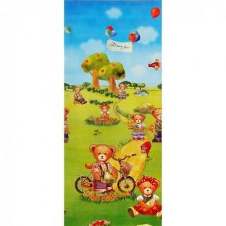 """Детский коврик """"Мишки"""" 145 × 63 × 0,5 см (под заказ)"""