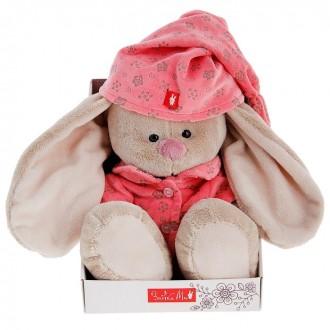 """""""Зайка Ми"""" в розовой пижаме 23 см (под заказ)"""