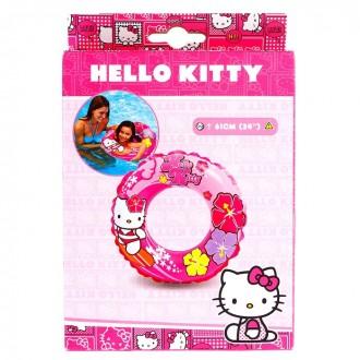 Круг для плавания Hello Kitty диаметр 61 см, от 6 до 10 лет (под заказ)