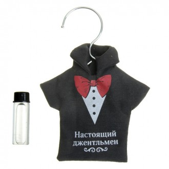 "Аромасаше на вешалке рубашка ""Настоящий джентльмен"", аромат жасмина"