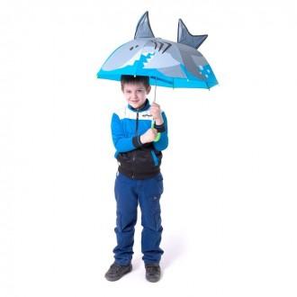"""Зонт детский """"Акула"""", диаметр 74 см (под заказ)"""