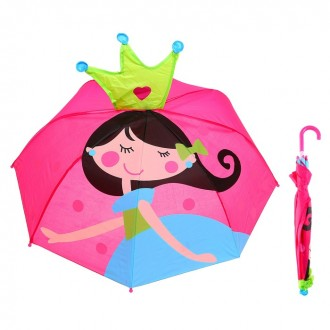 """Зонт детский """"Я - принцесса"""", диаметр 66 см (под заказ)"""