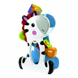 """Игровой набор """"Зебра с кубиками"""" Mattel Fisher Price"""