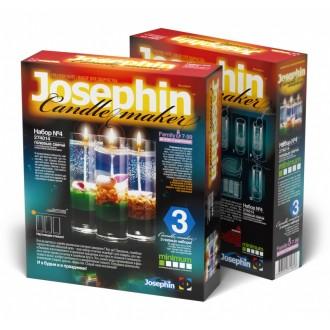 Josephin Гелевые свечи с ракушками Набор №4