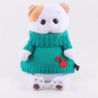 Кошечка Ли-Ли в зеленом свитере (24 см)