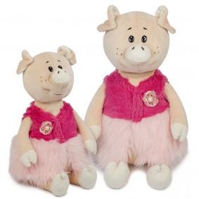 Свинка Даша в Модной Жилетке  (28 см)