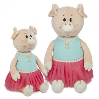 Свинка Даша в Ярком Платье (28 см)