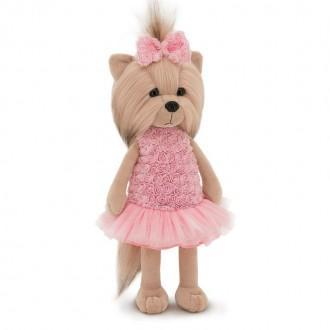 Собачка Lucky Yoyo: Розовый микс (25 см)