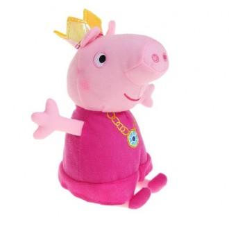 Мягкая игрушка «Пеппа-принцесса» 15 cм