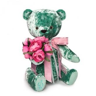 Медведь БернАрт-изумрудный (30 cм)