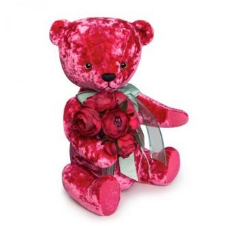 Медведь БернАрт-розовый (30 см)