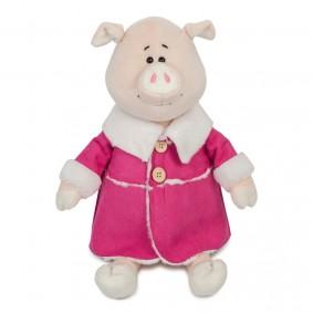 Свинка Глаша в Дубленке (28 см)