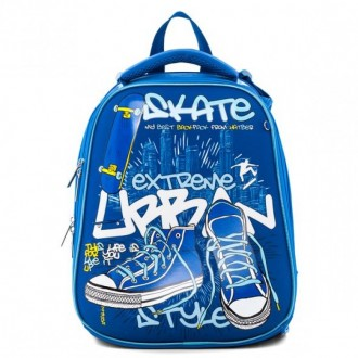 Рюкзак Hatber ERGONOMIC -Skate style- 37X29X17 см