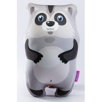 "Мягкая игрушка-антистресс ""Крошка енот"" серый (30 см)"