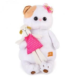 Кошечка Ли-Ли с овечкой (24 см)