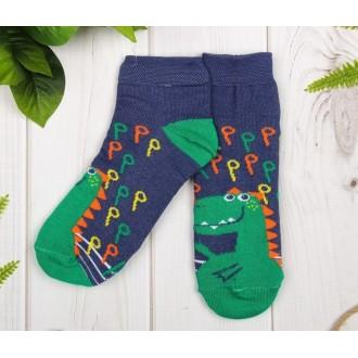 "Носки детские ""Динозавр"", 16-18 см, 4-6 лет"
