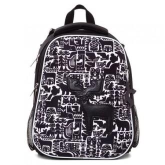 Ранец для школы Hatber ERGONOMIC -Сканди- 37X29X17 см