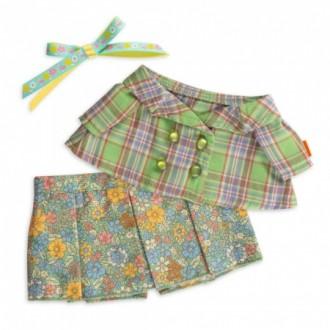 Жакет зеленый с юбкой BudiBasa для Ли-Ли 27 см