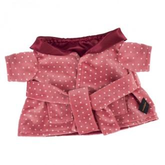 Темно-розовый халат BudiBasa для Басика 22 см
