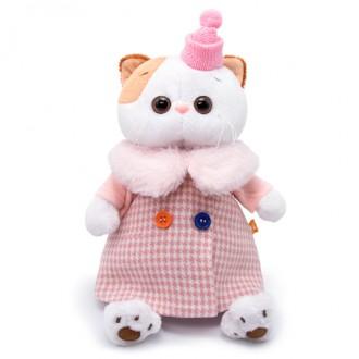 Кошечка Ли-Ли в комбинированном пальто (27 см)