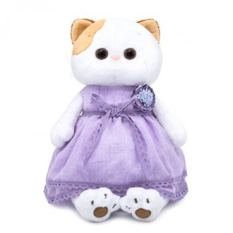 Кошечка Ли-Ли в лавандовом платье (24 см)