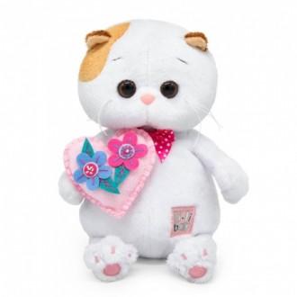 Кошечка Ли-Ли с сердечком (20 см)