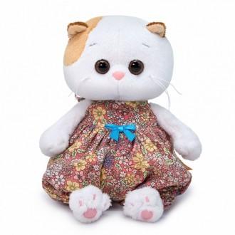 Кошечка Ли-Ли Baby в песочнике в цветочек (20 см)