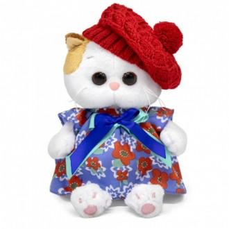 Кошечка Ли-Ли Baby в платье и ажурном берете (20 cм)