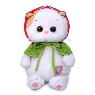 Кошечка Ли-Ли Baby в вязаной накидке