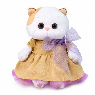 Кошечка Ли-Ли Baby в золотом платье (20 cм)