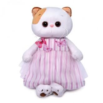 Кошечка Ли-Ли в платье с бабочками (24 см)