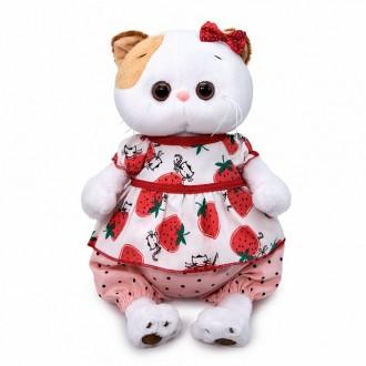 Кошечка Ли-Ли в блузке с клубничками (24 см)