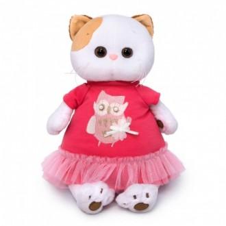 Кошечка Ли-Ли в платье с совой (24 см)