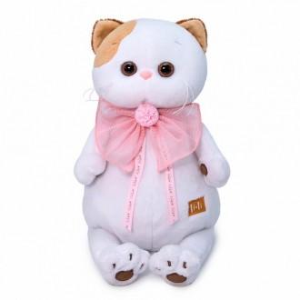 Кошечка Ли-Ли с розовым бантом (24 см)