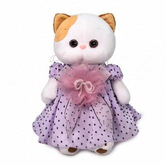 Кошечка Ли-Ли в нежно-сиреневом платье (24 см)