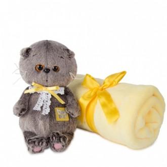 Basik Baby в комплекте с детским пледом (20 см)